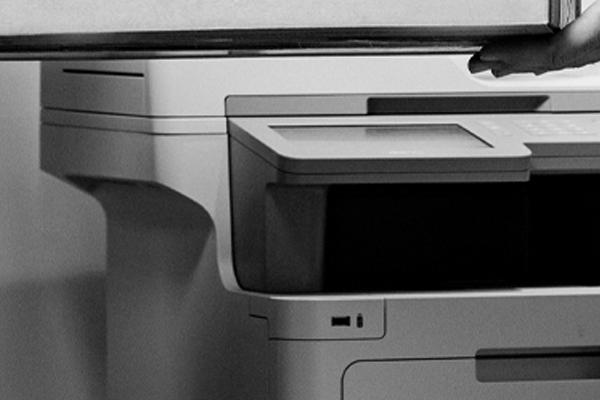 Printer onderhoud foto